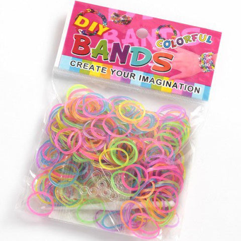 Loom Bands - Jelly Neons-Deramores