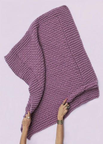 Amethyst Blanket by We Are Knitters-Deramores