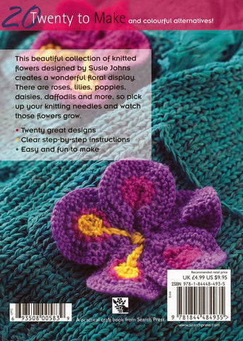 20 To Make - Knitted Flowers-Deramores