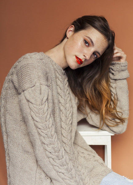 Gesture Sweater by We Are Knitters