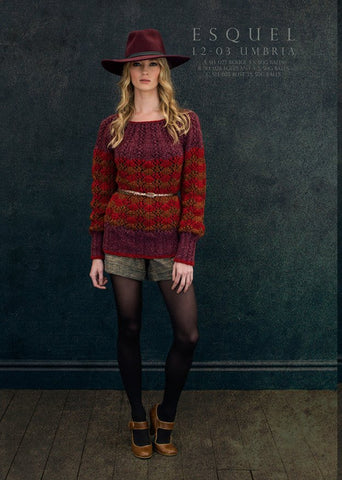 Umbria Sweaters in Louisa Harding Esquel (L2-03)