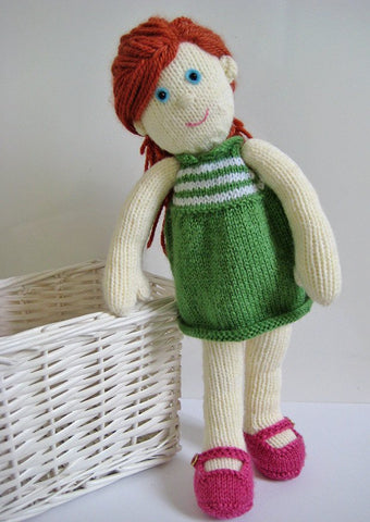 Lily Doll in DK by Amanda Berry - Digital Version-Deramores