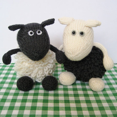 Loopy Sheep in DK by Amanda Berry - Digital Version-Deramores