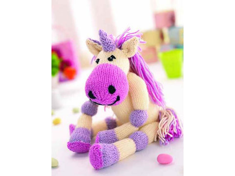 Maud The Unicorn by Val Pierce in Deramores Studio DK