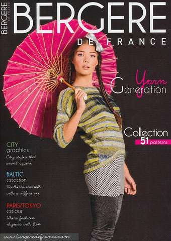 Knitting Magazine 169 - 51 Patterns by Bergere de France