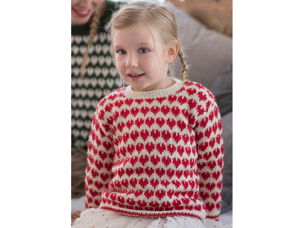 b02549913 Children s Colourwork Sweater in Novita Nalle – Deramores