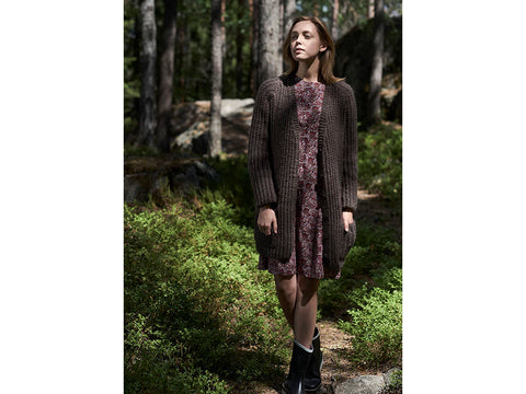 Women's Cardigan in Novita Natura