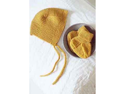 df494f97979b93 SAVE 10%Baby Knitted Socks   Hat in Novita Baby Merino