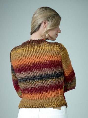Sweater in Noro Kureyon Air