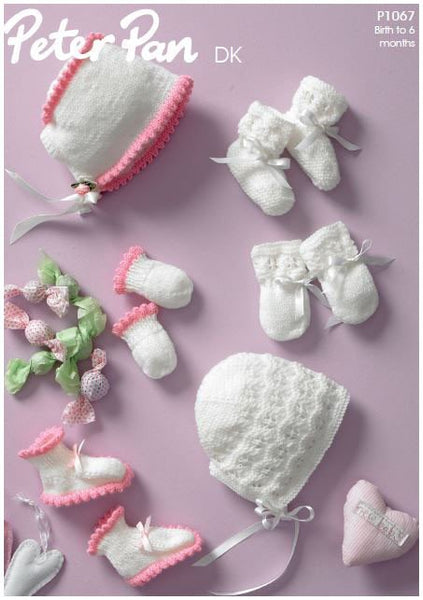 Baby Accessories in Peter Pan DK (P1067) Digital Version-Deramores