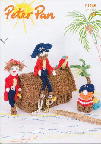 Pirate Play Set and Bunting in Peter Pan DK (1268)