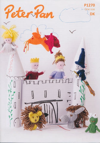 Finger Puppets and Bags in Peter Pan DK (1270)-Deramores
