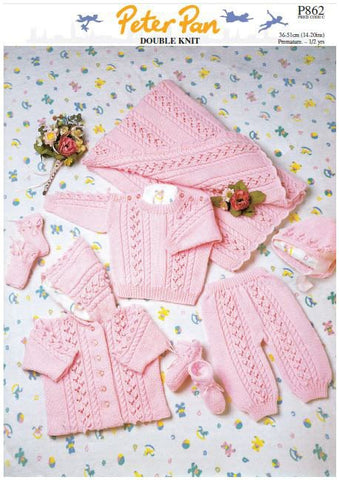 Pink Set in Peter Pan DK (P862) Digital Version