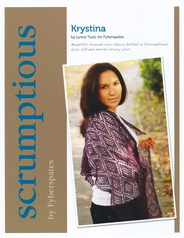 Krystina in Fyberspates Scrumptious Lace - Digital Version-Deramores