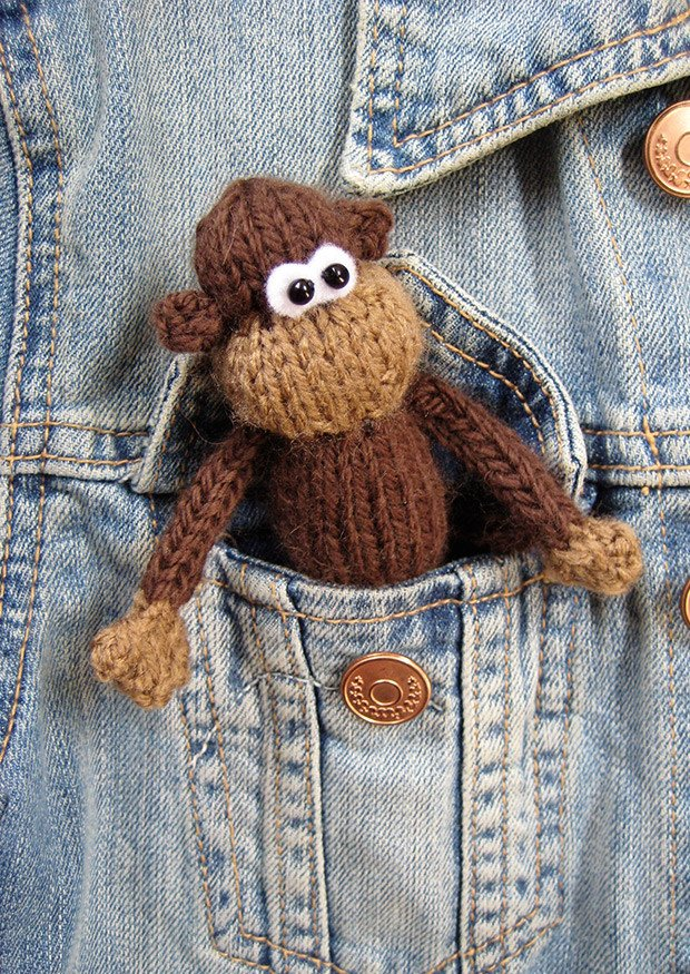 Pocket Monkey in DK by Amanda Berry - Digital Version