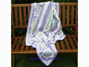 Whispers From The Past By Crystals & Crochet in Stylecraft Special DK & Aran