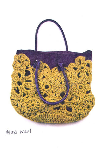 Crochet Lace Bag (UK) - Erika Knight-Deramores