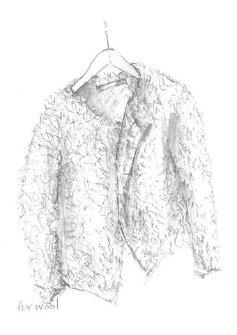 Fur Jacket - Erika Knight-Deramores