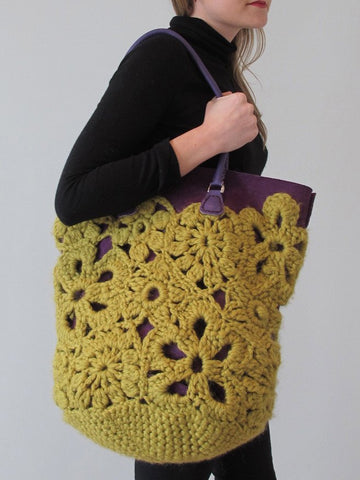 Crochet Lace Bag (UK) - Erika Knight - Digital Version-Deramores