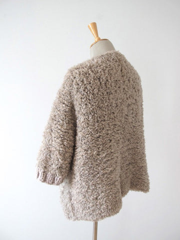 Rib Edge Fur Jacket - Erika Knight - Digital Version