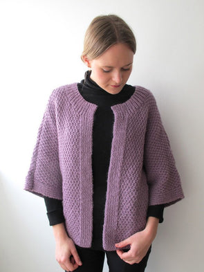 Edge-to-Edge Stitch Cardigan - Erika Knight - Digital Version