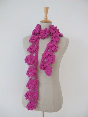 Edgy Crochet Scarf - Erika Knight - Digital Version