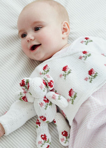 Rosebud Crossover in Debbie Bliss Eco Baby - Digital Version