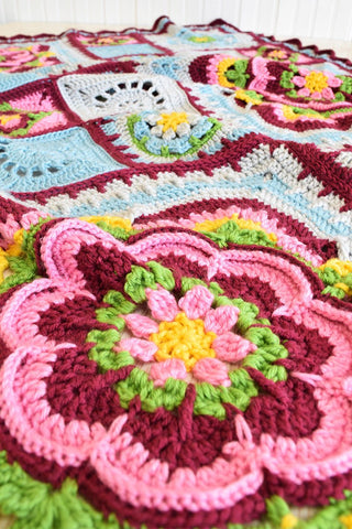Deramores Studio DK – Rose of Avalon Blanket Pack-Deramores