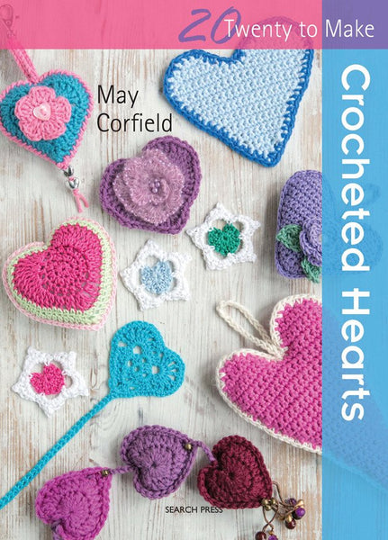 20 to Make Crocheted Hearts
