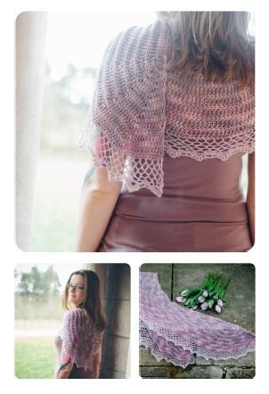 Silene Shawl by Joanne Scrace - Digital Version