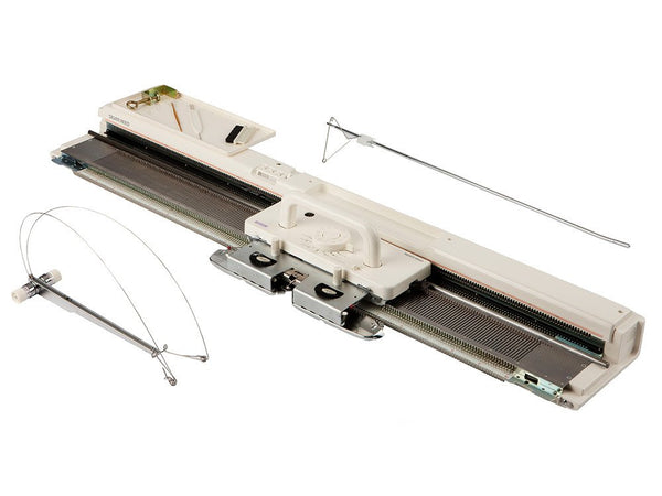 Silver SK840 Standard Gauge Electronic Knitting Machine - default