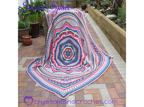 Sacred Space by Crystals & Crochet in Stylecraft Special DK & Life DK