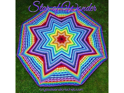 Star of Wonder Blanket by Crystals & Crochet in Stylecraft Special DK & Special Aran