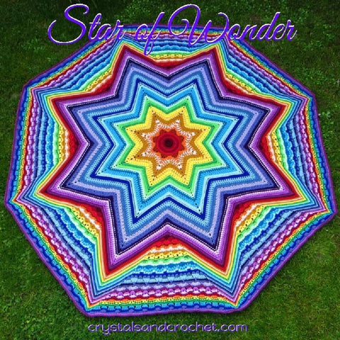 Star of Wonder Blanket Pattern by Helen Shrimpton - Digital Version