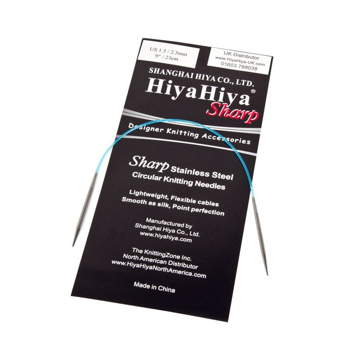 HiyaHiya Sharp Circular Knitting Needles  40cm