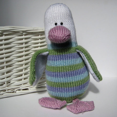 Stripes the penguin in DK by Amanda Berry - Digital Version