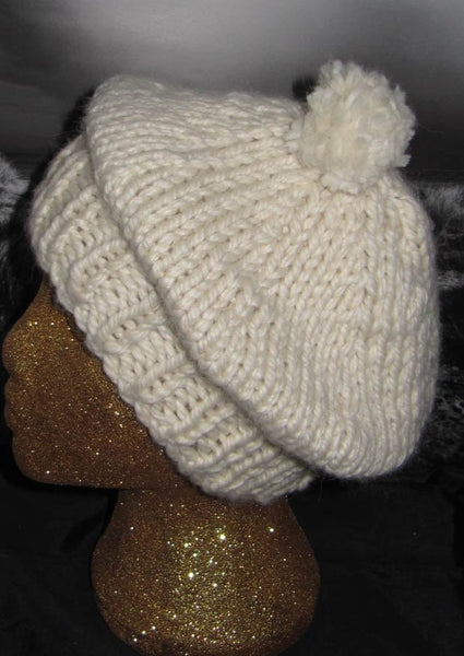 Superfast Tam 0'Shanter Hat by MadMonkeyKnits (134) - Digital Version