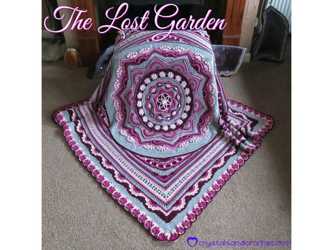 The Lost Garden by Crystals & Crochet in Stylecraft Bellissima/Bambino