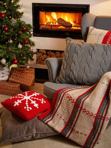 Deramores Studio Chunky Snowflake Cushion Colour Pack-Deramores