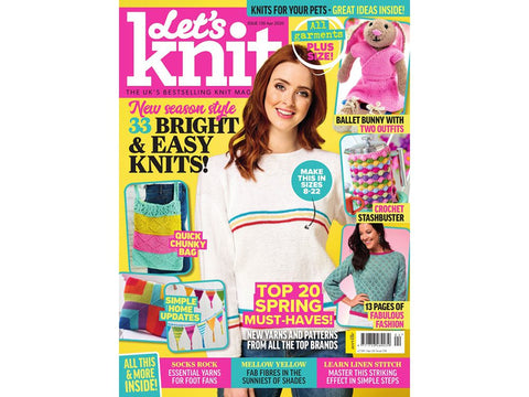 Let's Knit Magazine - Issue 156