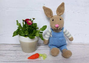 Bunny Rabbit Crochet Kit and Pattern