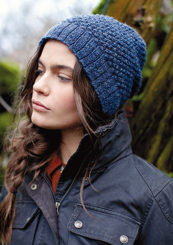 Scafell Hat Knitting Kit and Pattern in Rowan Yarn
