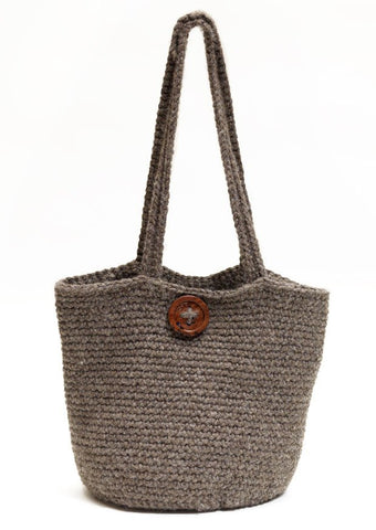 Crochet Bucket Bag in TOFT Chunky - Digital Version-Deramores