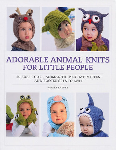 Adorable Animal Knits For Little People