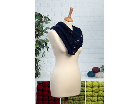Lorelei Cowl by Charmaine Fletcher in Deramores Studio DK
