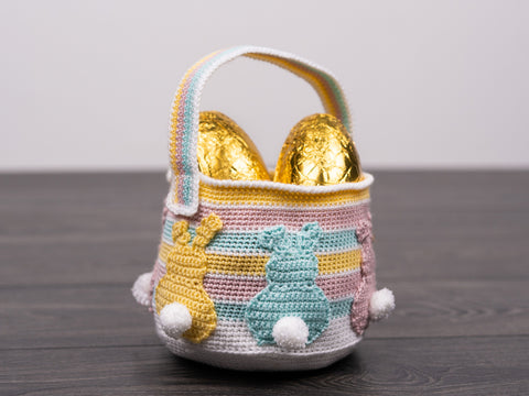 Easter Basket Crochet Kit and Pattern