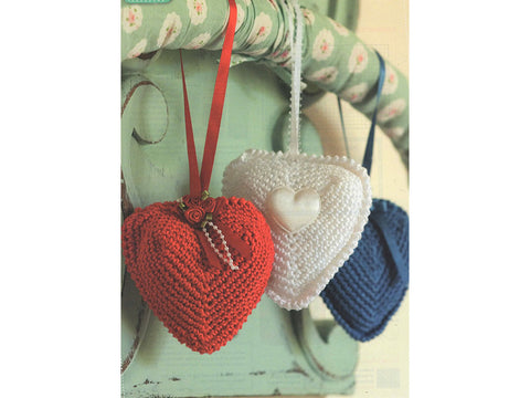 Wedding Hearts Crochet Kit and Pattern in Rico Design Yarn