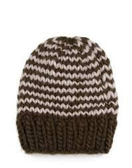 Wesley Stripes Beanie by Wool and the Gang