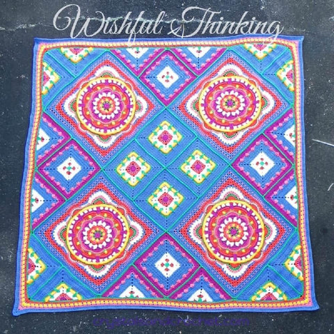 Wishful Thinking Blanket Pattern by Helen Shrimpton - Digital Version