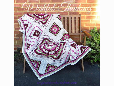 Wishful Thinking Blanket by Crystals & Crochet in Stylecraft Special DK & Aran